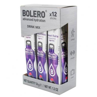 Pack 12 Sticks Bebidas Bolero sabor Frutas del Bosque 36 g