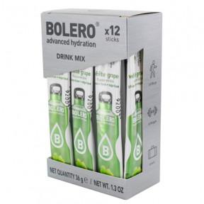 Pack de 12 Bolero Drinks Sticks Uva Branca 36 g
