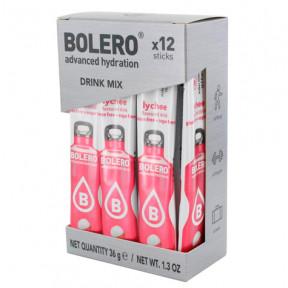 Pack 12 Bolero Drinks Sticks Lychee 36 g