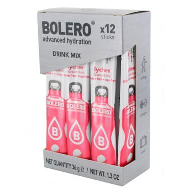 Pack de 12 Bolero Drinks Sticks Lichia 36 g