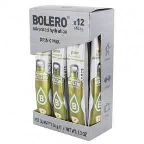 Pack 12 Bolero Drinks Sticks Pear 36 g