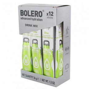 Pack 12 Bolero Drinks Sticks Lime 36 g
