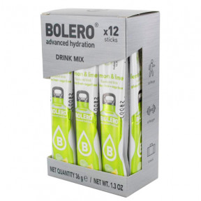 Pack 12 Bolero Drinks Sticks Lemon and Lime 36 g