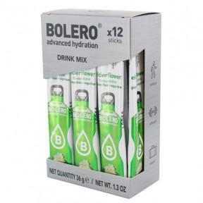 Pack 12 Sticks Bebidas Bolero sabor Flor de Saúco 36 g