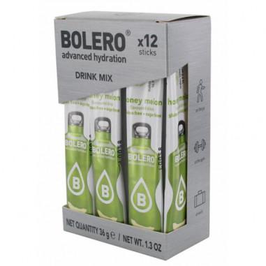 Pack 12 Sticks Bebidas Bolero sabor Melón 36 g