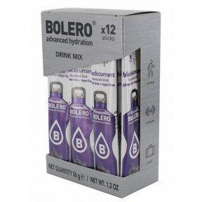 Pack 12 Sticks Bebidas Bolero sabor Grosella 36 g