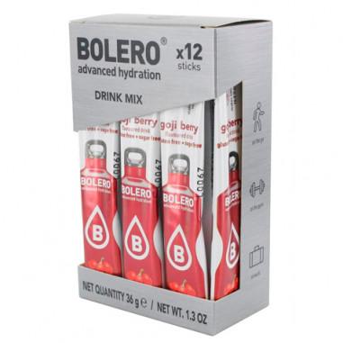 Pack 12 Sticks Bebidas Bolero sabor Bayas de Goji 36 g