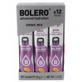 Pack 12 Bolero Drinks Sticks Plum 36 g