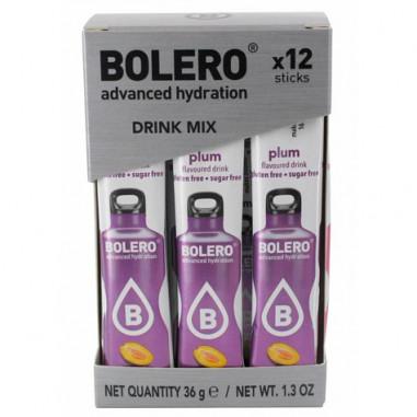 Pack 12 Sticks Bebidas Bolero sabor Ciruela 36 g