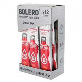 Pack 12 Sticks Bebidas Bolero sabor Fresa 36 g
