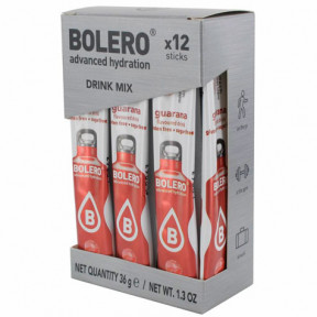 Pack 12 Sticks Bebidas Bolero sabor Guarana 36 g