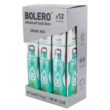 Pack 12 Bolero Drinks Sticks Mint 36 g
