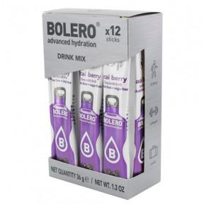Pack de 12 Bolero Drinks Sticks Açaí Bagas 36 g