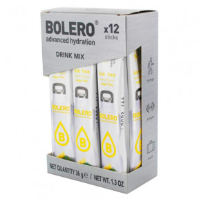 Pack 12 Sticks Bebidas Bolero sabor Ice Tea Limón 36 g
