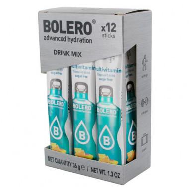 Pack 12 Sticks Bebidas Bolero sabor Multivit 36 g