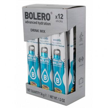 Pack 12 Bolero Drinks Sticks Exotic 36 g