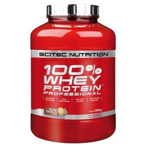 100% Whey Professional Scitec Nutrition Chocolat orange 2350 g