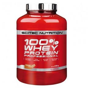 100% Whey Professional Scitec Nutrition Caramel 2350 g