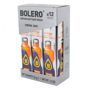 Pack 12 Sachets Bolero Drink Isotonique goût Orange 36 g