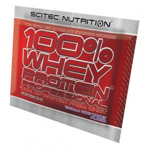 100% Whey Professional Scitec Nutrition Vainilla Frutos del Bosque monodosis 30 g