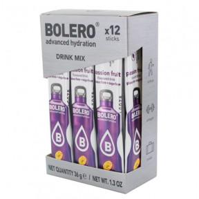 Pack 12 Sticks Bebidas Bolero sabor Maracuyá 36 g