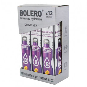 Pack de 12 Bolero Drinks Sticks Maracujá 36 g