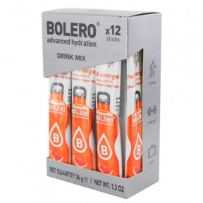 Pack 12 Sachets Bolero Drink goût Sanguina à l'orange 36 g