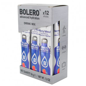 Pack de 12 Bolero Drinks Sticks Berries 36 g