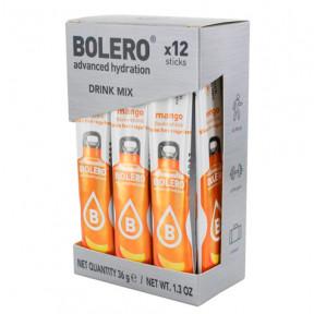 Pack 12 Sticks Bebidas Bolero sabor Mango 3 g