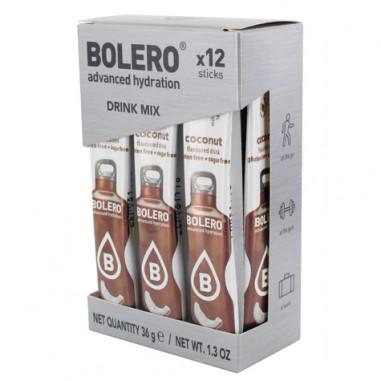 Pack de 12 Bolero Drinks Sticks Coco 3 g