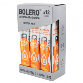 Pack de 12 Bolero Drinks Sticks Tangerina 36 g