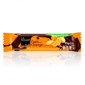 Barrita Low-Carb de Chocolate negro con naranja La Nouba 35 g