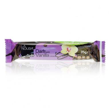 Chocolat noir Low-Carb Remplie de Crème à la Vanille LaNouba 35 g