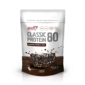 Classic Protein 80 Sabor Brownie Doble Chocolate Got7 500 g