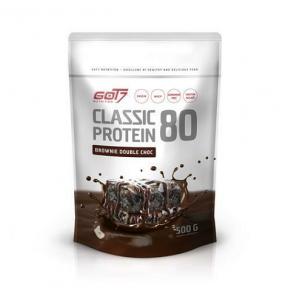 Classic Protein 80 Sabor Brownie Duplo Chocolate Got7 500 g