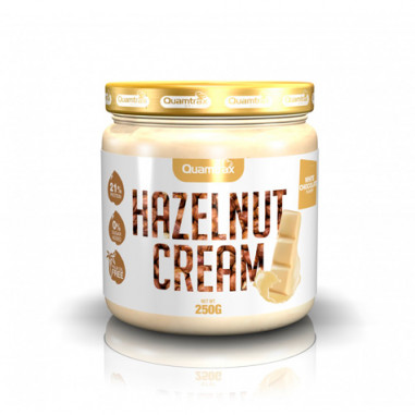 Quamtrax White Chocolate Hazelnut Cream 250 g