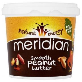 Mantequilla de Cacahuete Suave Meridian 1 kg