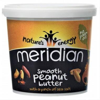 Manteiga de Amendoim Salgada Macia Meridian 1 kg