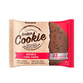 Weider Protein Cookie Chips Doble Chocolate 90 g