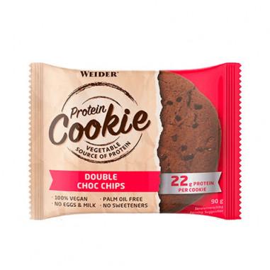 Weider Protein Cookie Chips Doble Chocolate 90 g