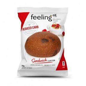 Bollito FeelingOk Sandwich Start Cacao 1 unidad 50 g