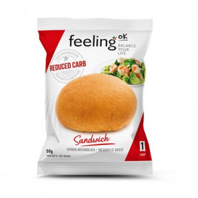 Bollito FeelingOk Sandwich Start Natural 1 unidad 50 g