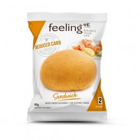 Pão Sandwich Natural Optimize FeelingOk 1 unidad 40 g