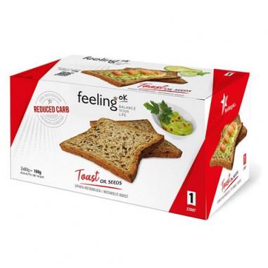 Tostadas FeelingOk Start Semillas 160 g