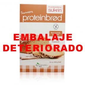 Preparado para Elaborar Pan de Avena y Sésamo Sukrin 220 g (Proteinbrød)