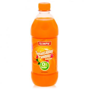 Concentrado para Bebida 0% Azúcar sabor Naranja y Frambuesa de Slimpie 580 ml