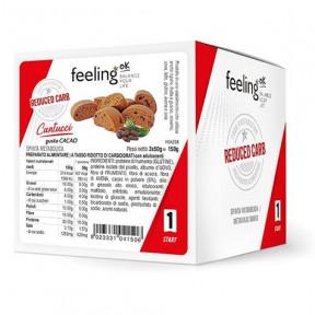 Mini Biscuits FeelingOk Cantucci Start Cacao 150 g