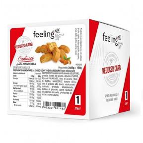 Mini Galletas FeelingOK Cantucci Start Almendras 150 g