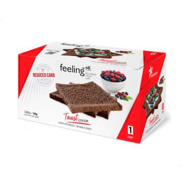 Tostadas FeelingOk Start Cacao 160 g