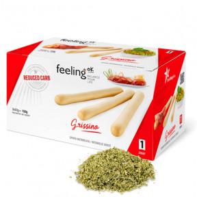 FeelingOk Oregano Grissino Start Breadsticks 150 g (3x50g)